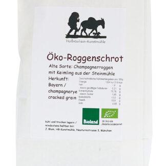 Roggenschrot Öko