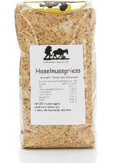 Haselnussgriess